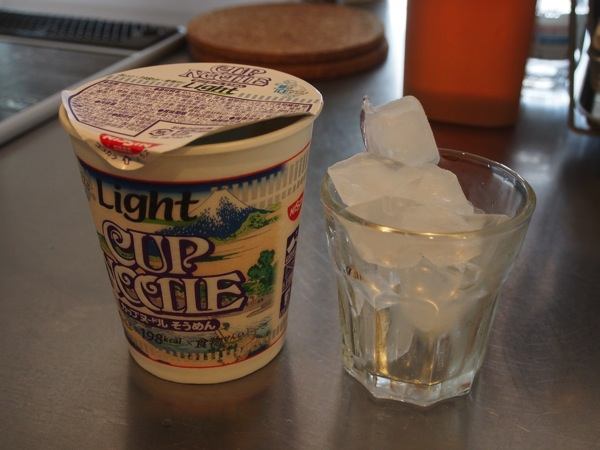 Cup noodle somen 0224