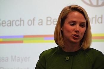Googleのマリッサ・メイヤー、Yahoo! のCEOに就任