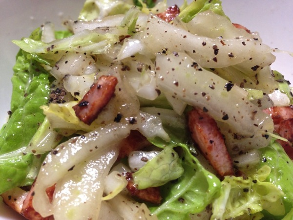 Hakusai salad 7433