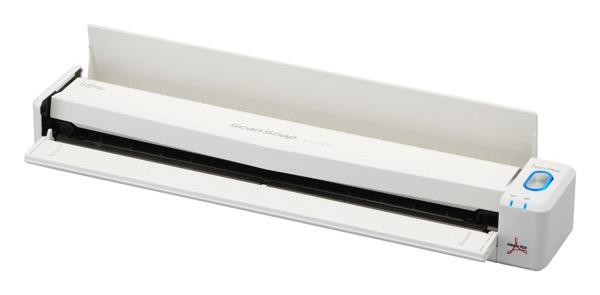 「ScanSnap iX100 スノーホワイト」モバイルできるスキャナに白い新色が登場