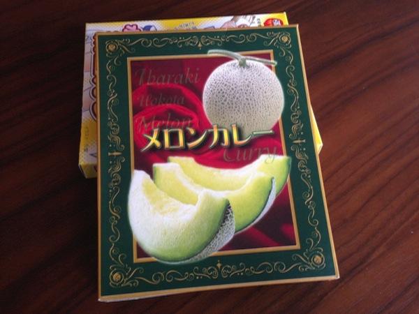 茨城ご当地カレー「メロンカレー」を食す → なんでカレーにメロンを入れてしまったんだ!