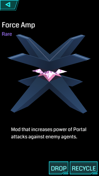 【Ingress】MOD:Force Amp(フォース・アンプ)