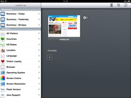 Google Analyticsを見るのにiPad miniでアプリが丁度良い「Analytics Pro」