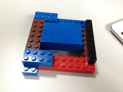 Ipad lego stand 6694