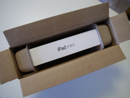 【iPad mini】開封の儀 → 超ファーストインプレッション