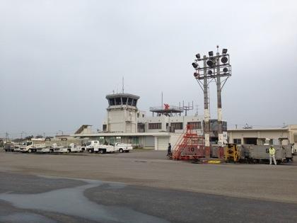 最後の「石垣空港」写真に収めました(石垣島)