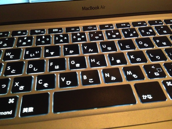 Keyboard backlight 9834