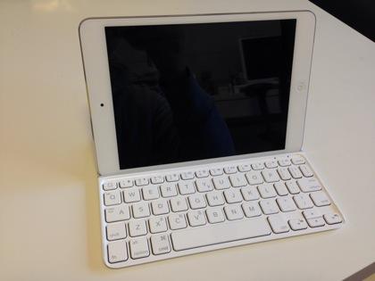 iPad mini用薄型軽量キーボード「ロジクール ウルトラスリム キーボード ミニ」ファーストインプレッション