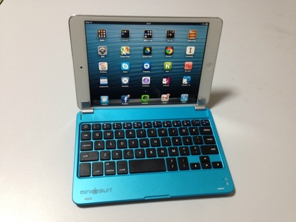「iPad mini」用に最適なBluetoothキーボードを発見!まるでノートPC&ギミックの具合がすこぶる良い!