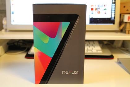 或る日「Nexus 7」を手に入れまして