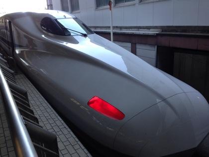新幹線に乗って春の尾道に行ってきます!