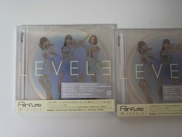 Perfume「LEVEL3」届いたので聴いています!