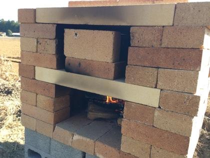 ピザ窯の作り方 5035