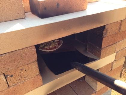 ピザ窯の作り方 5040