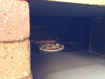 ピザ窯の作り方 5041