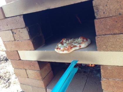 ピザ窯の作り方 5042