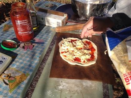 ピザ窯の作り方 5047