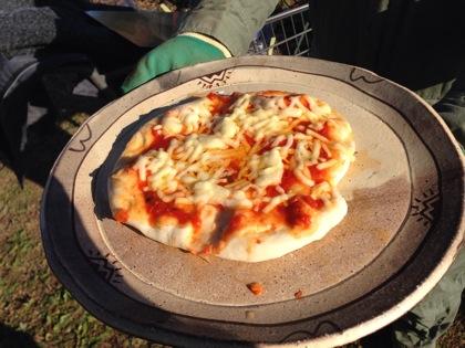ピザ窯の作り方 5048