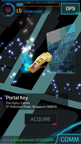 Portal key drop 0796