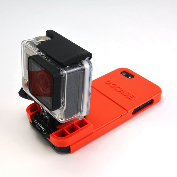 GoProとiPhoneが一体化するケース「THE OG CASE for iPhone5s/5」