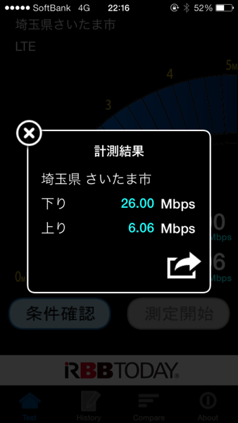 Speed test 4003