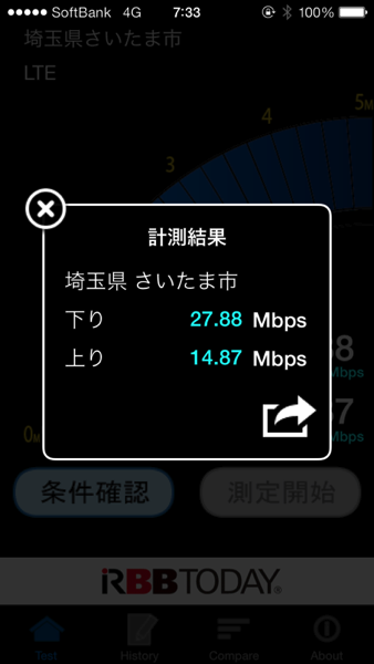 Speed test 4007