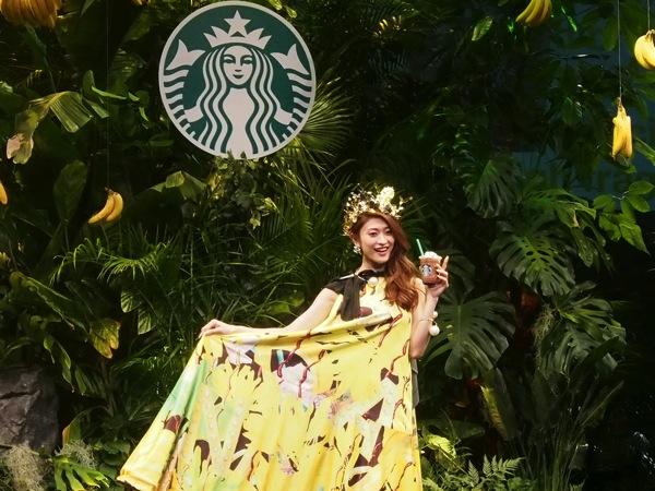 スターバックス「フレッシュバナナ&チョコレートクリーム フラペチーノ」発表イベントに潜入!フレッシュで新しいけど日本人には懐かしさのある味だと思う!