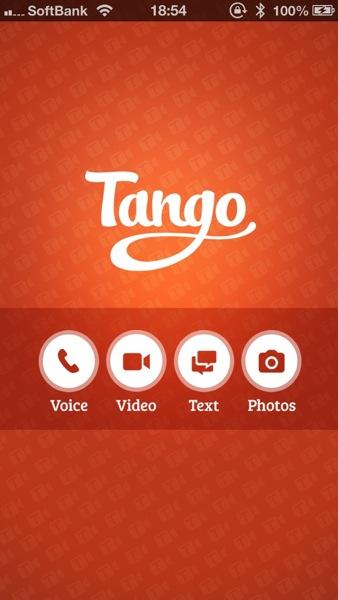 ビデオチャットができるメッセージングアプリ「Tango」1億ユーザを突破