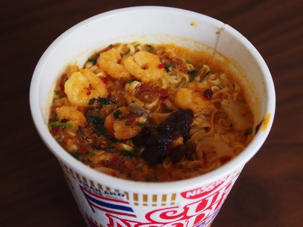 Tom yum noodles 0717