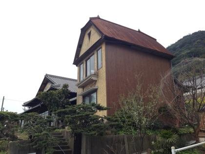ポニョの故郷・鞆の浦で出会ったポニョと宗介が住んでそうな一軒家