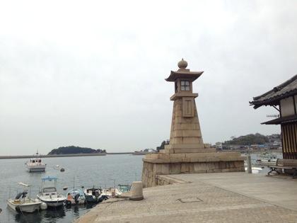 「常夜灯(鞆の浦)」江戸時代に作られた海を照らす明かり