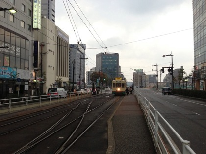 富山の路面電車(セントラム)に乗りました