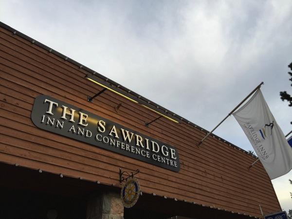ジャスパーで宿泊したホテル「THE SAWRIDGE」 #アルバータ秋旅 #カナダ