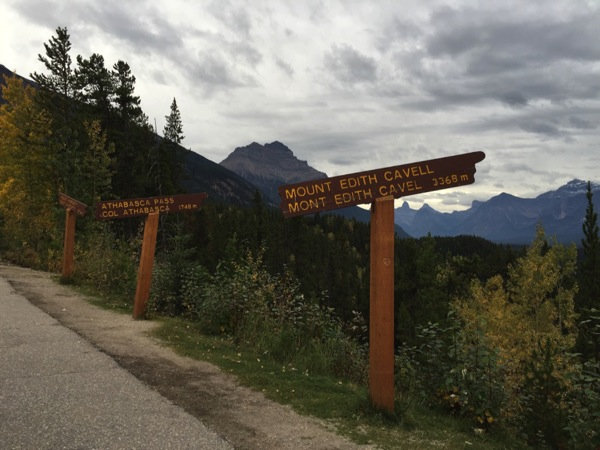 「エディス・キャベル山(Mount Edith Cavell)」 #アイスフィールド・パークウェイ #アルバータ秋旅 #カナダ