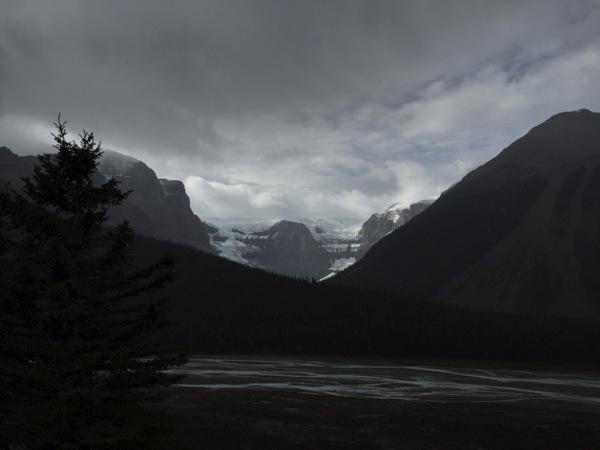 「スタットフィールド氷河(Stutfield Glacier)」 #アイスフィールド・パークウェイ #アルバータ秋旅 #カナダ