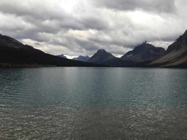 「ボウ湖(Bow Lake)」 #アイスフィールド・パークウェイ #アルバータ秋旅 #カナダ