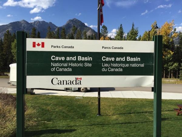 「ケーブ&ベイスン(Cave and Basin)」バンフの温泉に棲むカタツムリをついにキャッチ! #アルバータ秋旅 #カナダ
