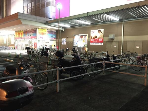 「TRICITY(トリシティ)」コンビニやショッピングモールで駐輪してみた #TRICITY #トリシティ #駐輪