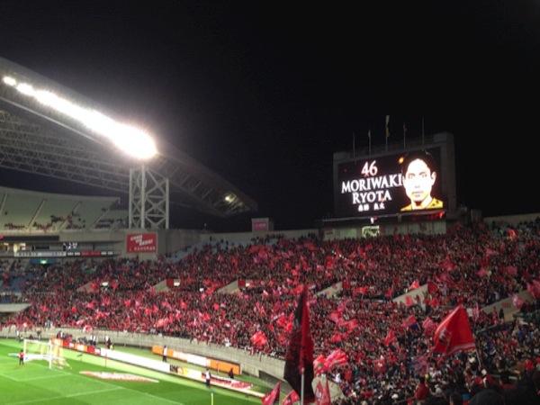 第6節 浦和レッズ v.s. ベガルタ仙台(2014シーズン)