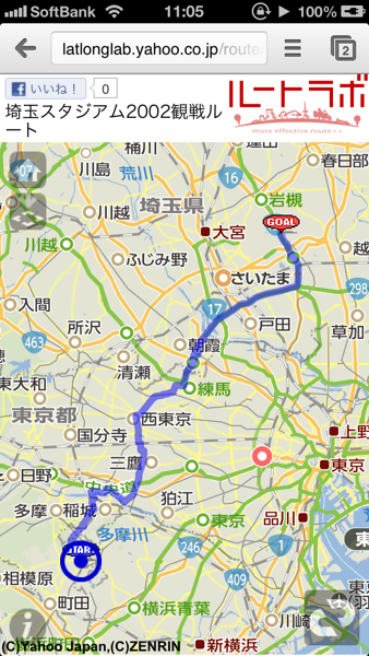 Yahoo map 2658