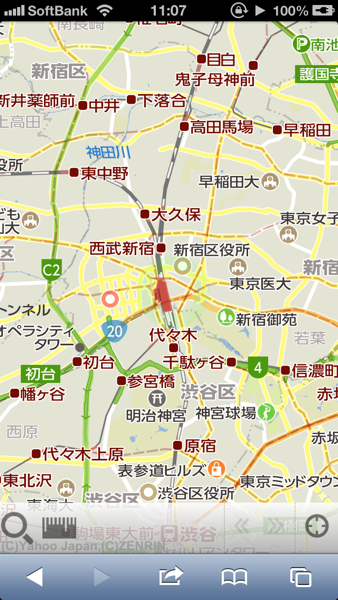 Yahoo map 2660