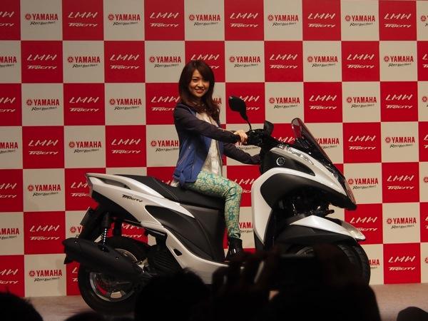 Yamaha tricity 0189