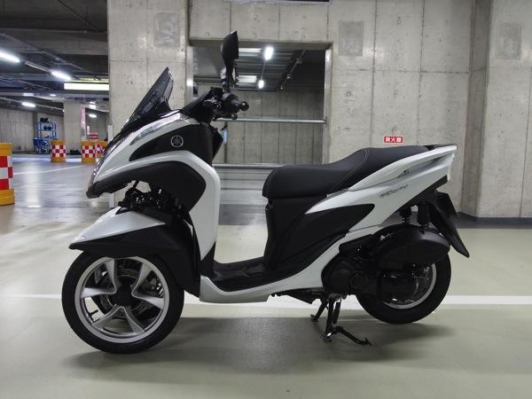 Yamaha tricity 0251