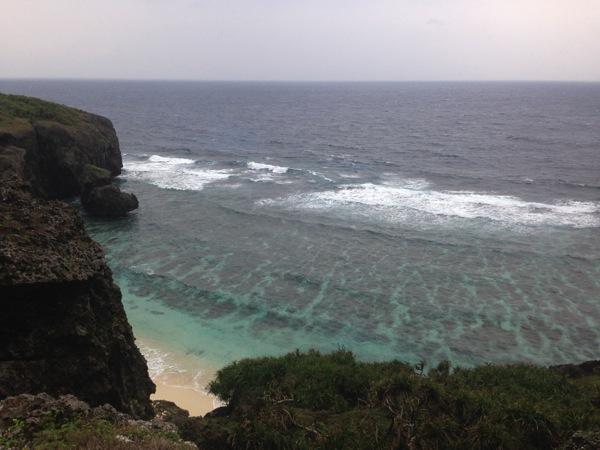 「六畳ビーチ」ガイドマップに載らない秘密のビーチの行き方(与那国島)
