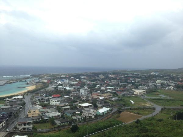 「ティンダハナタ」与那国の町(祖納)を一望できる断崖絶壁