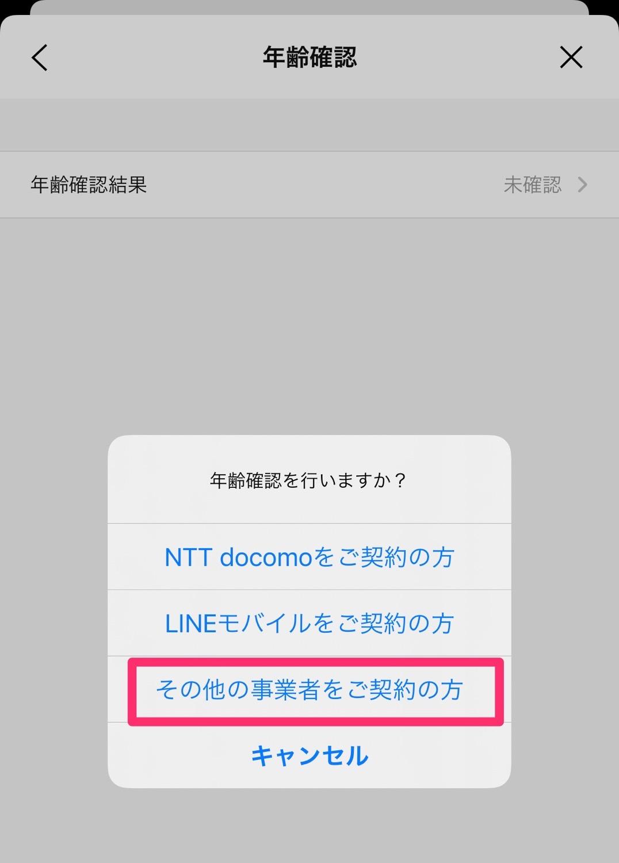 Line iijmio 20210304