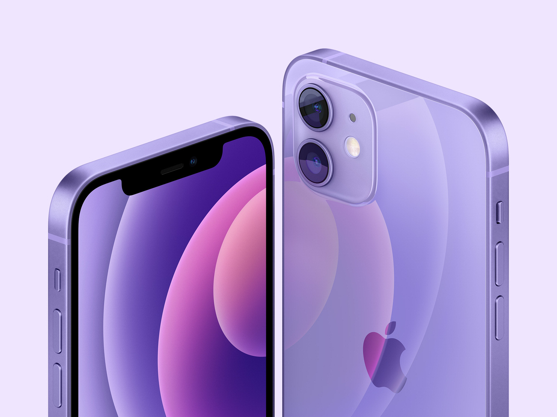 Apple iphone 12 spring21 purple 04202021