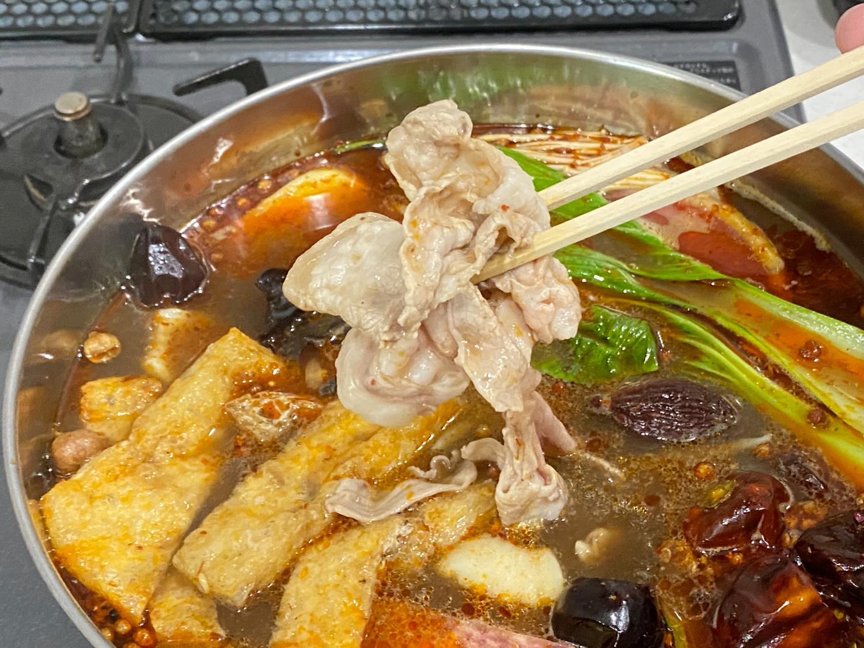 豚組しゃぶ庵x四川飯店コラボ「豚しゃぶ火鍋」 29 04