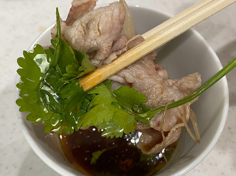 豚組しゃぶ庵x四川飯店コラボ「豚しゃぶ火鍋」 33 04