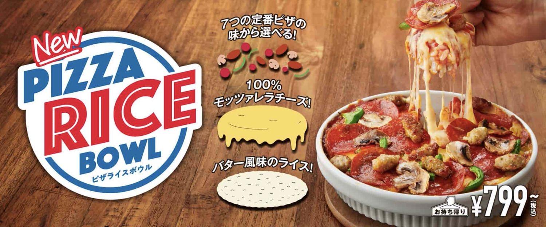 Domino pizza rice bowl 17